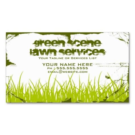 valintines card landscape templates free 1000 images about landscaping business cards on