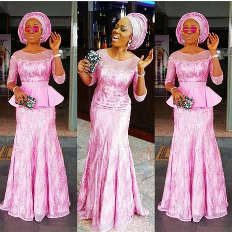 Aseobi Style | 10 beautiful asoebi and ankara styles over the weekend
