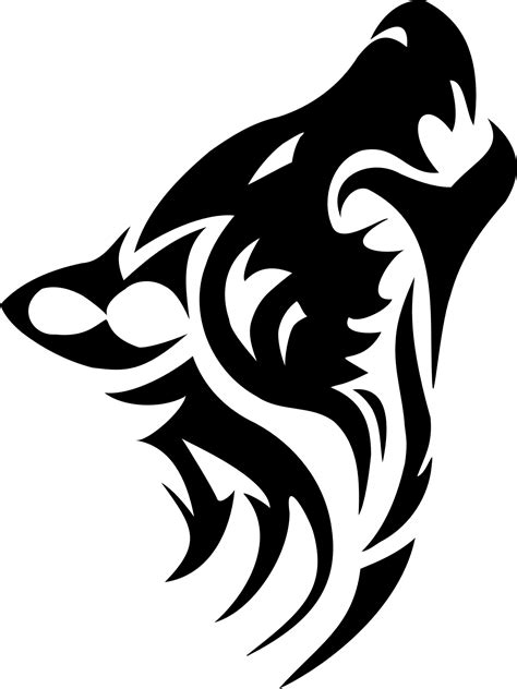tribal tattoos png hd 42 wolf tattoos designs