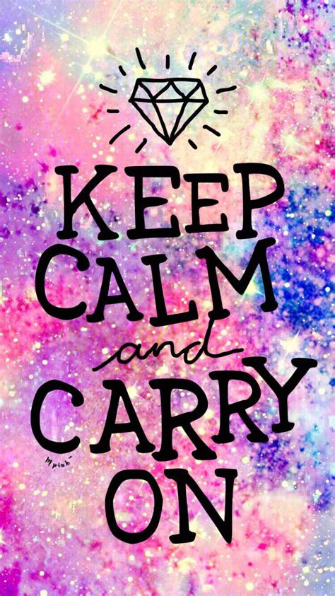 keep in background keep calm galaxy wallpaper my wallpaper creations in
