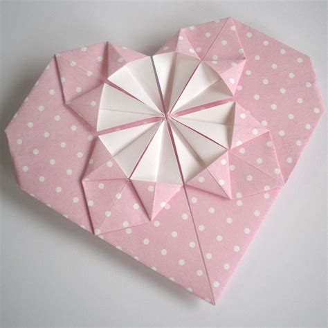 Origami For Valentines - origami s day card by paperbuzz
