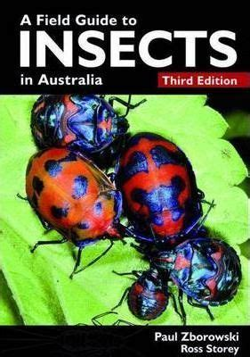 the energy field guide books a field guide to insects in australia paul zborowski