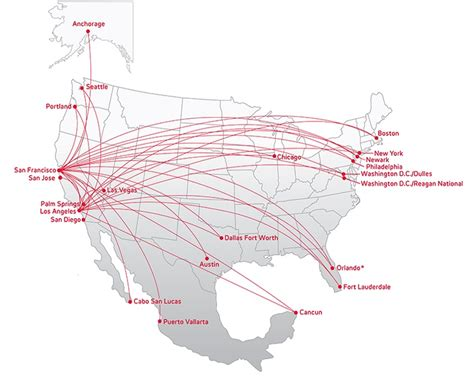 america route map n361va world airline news