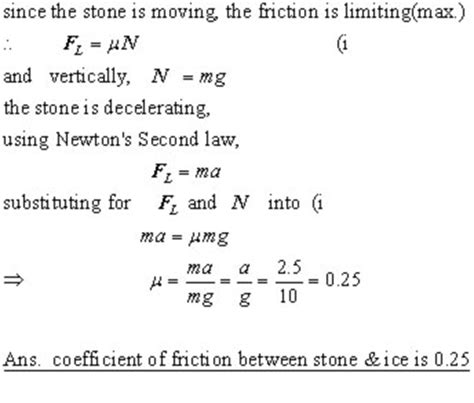 friction, mechanics from a level physics tutor