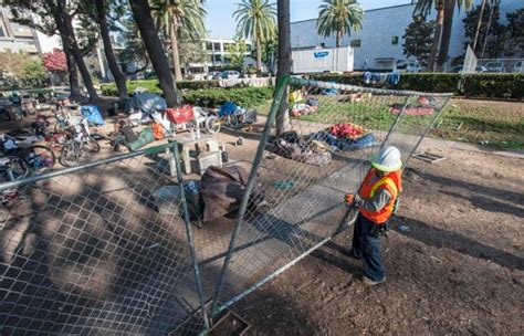 section 8 santa ana homeless people removed from area behind santa ana library