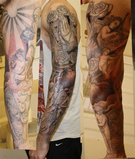 urban tattoo sleeve designs 100 s of keith design ideas picture gallery