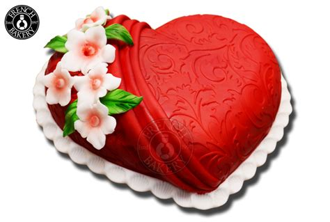 heart shape full cake french bakery dubai menu products uae