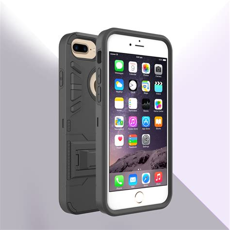 Bumper Defender Armor Clip Cover Casing Iphone 5 5s Se for apple iphone 7 plus 5 5 defender rugged armor kickstand clip holster ebay