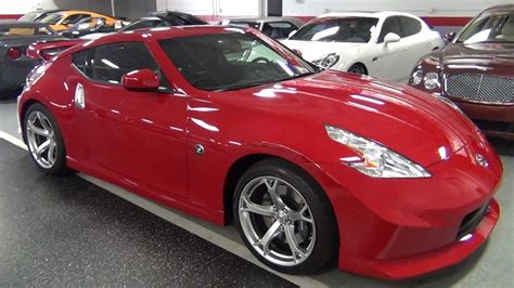 red nissan 2012 2012 nissan 370z nismo solid red youtube