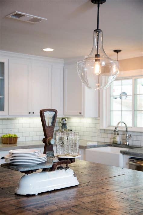 fixer upper kitchen lighting photos hgtv