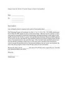 best photos of notification letter to tenant template