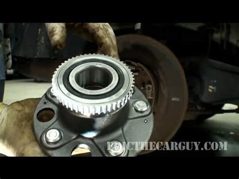 1996 plymouth neon rear wheel bearing removal dodge rear wheel bearing replacement doovi