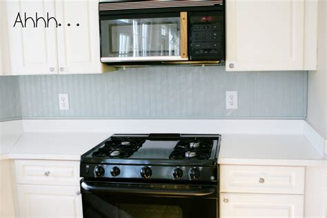 Beadboard Kitchen Backsplash Be Different Act Normal Beadboard Backsplash