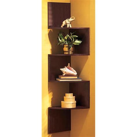 Corner Shelf by Hanging Corner Shelves 134406 Housekeeping Storage At