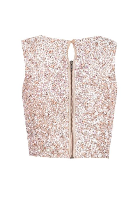 pink beaded top lace picasso pink sequin top lace tops