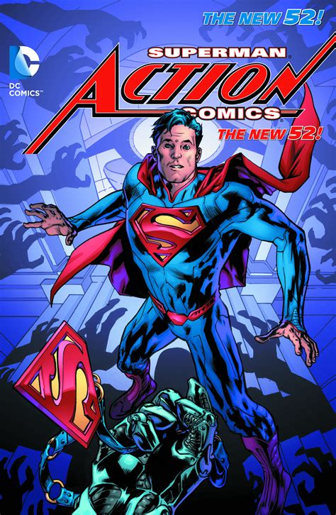 supermantp vol 1 apr140268 superman action comics tp vol 03 at the end of days previews world