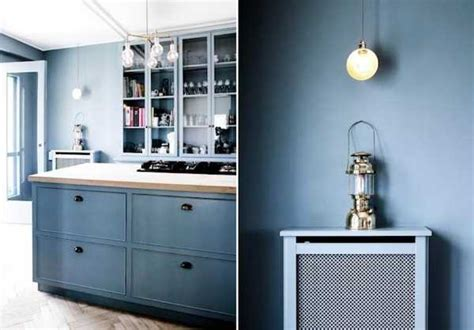 modern kitchen paint colors cool blue paint for wood kitchen cabinets and walls
