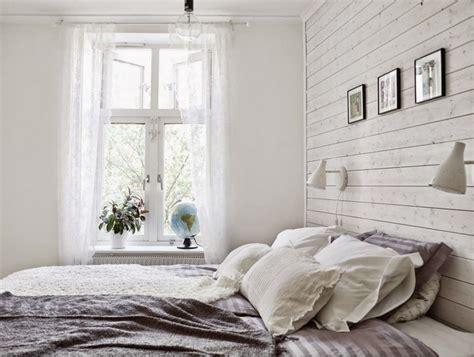 wandverkleidung holz skandinavisch wandpaneele aus holz wei 223 lasieren 35 ideen f 252 rs landhaus