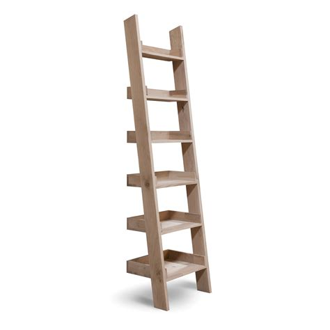 Small Ladder Bookcase Buy Garden Trading Oak Shelf Ladder Small Amara