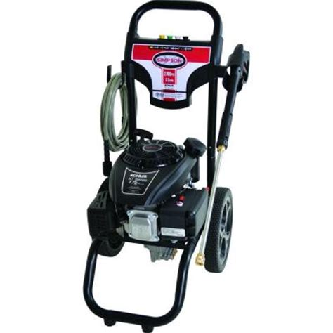 megashot 2 700 psi 2 3 gpm gas pressure washer