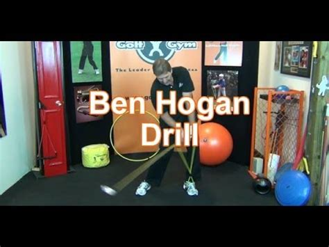 how to initiate swinging the hogan pivot drill doovi