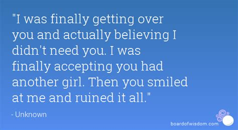 Quotes About Getting Over Something Quotesgram - finally getting over you quotes quotesgram