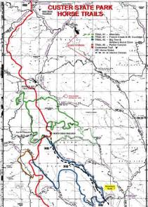 Custer State Park Map by Custer State Park At A Glance