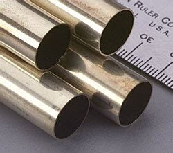 brass tube stock pm research k s engineering k s round brass tube 1 2 x 12 quot pm