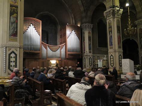 Organ Concert Brings To Audiences Audience Organ Concert Loreto Aramendi