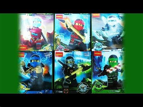 Lego Decool 10047 10052 lego ninjago decool bootleg minifigure set review how to