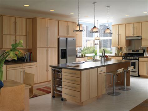contemporary wood kitchen cabinets natural modern kitchen ideas home designs project