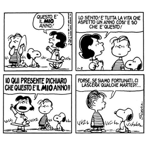 il capodanno nei peanuts di charles schulz famiglia
