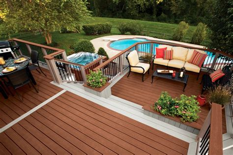 awesome home deck designs homesfeed amazing deck designs hgtv