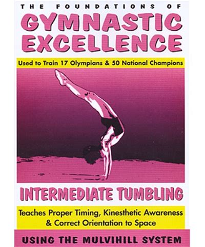 gymnastics excellence vol 3 intermediate tumbling vhs