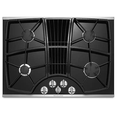 Fireplace Downdraft by Kitchen Aid Downdraft Gas Cooktop Nw Appliance Center