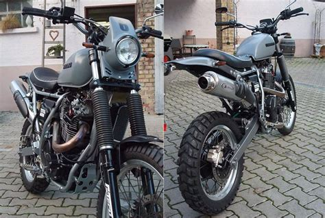 Motorrad Suzuki Flensburg by Custom Suzuki Dr 800 Big Good Spark Garage Motorcycles