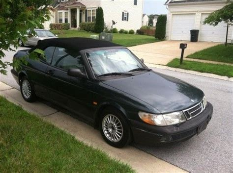 how make cars 1995 saab 900 engine control find used 1995 saab 900se convertible in waldorf maryland united states for us 1 900 00
