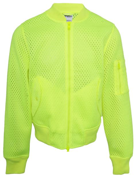 Sweater Adidas Unisex 4 for adidas unisex mesh bomber jacket fluro yellow in yellow for lyst