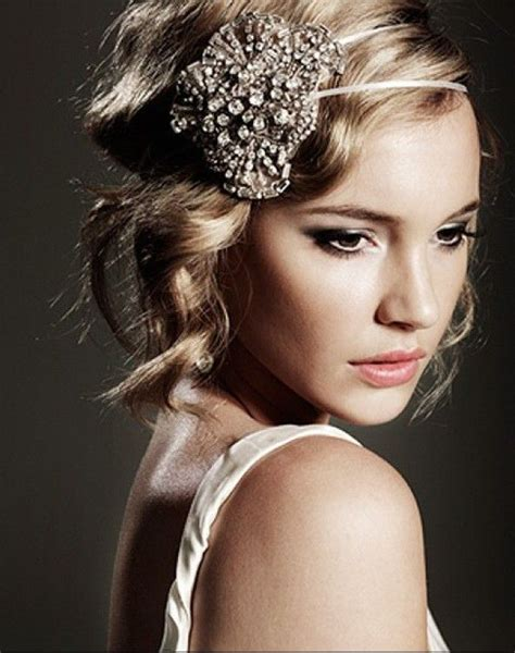 make a gatsby hair peice beautiful headpiece 1920s gatsby wedding pinterest