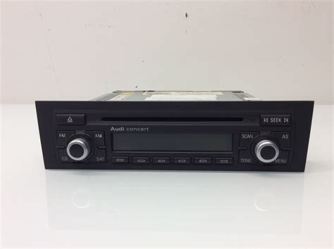 Audi A3 Radio Concert by 2006 2007 Audi A3 Radio Stereo Concert Ii 8p0035186k Ebay