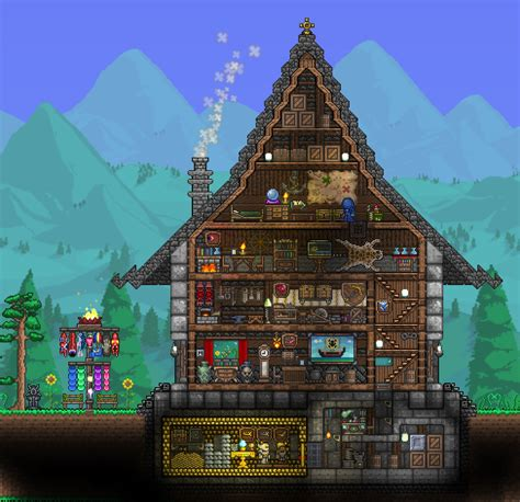 Exquisite House Terraria And House House Layout Terraria