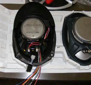 replacement front door speakers with infinity system