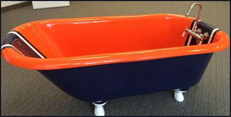 orange in bathtub bathroom reglazing colors best bathroom decoration