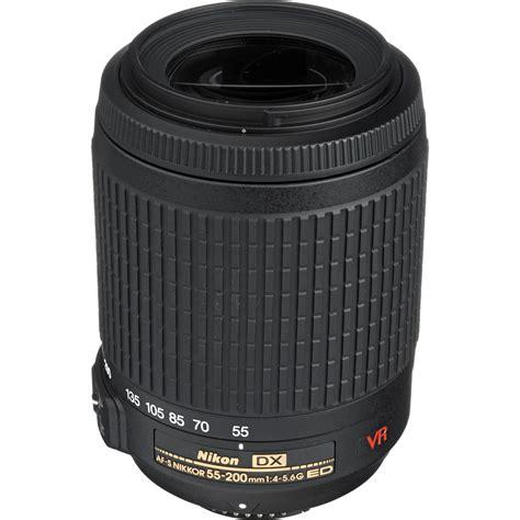Nikon Dx Vr nikon af s dx vr zoom nikkor 55 200mm f 4 5 6g if ed lens
