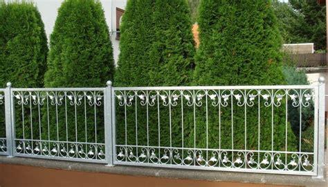 Gartenzaun Metall Pulverbeschichtet