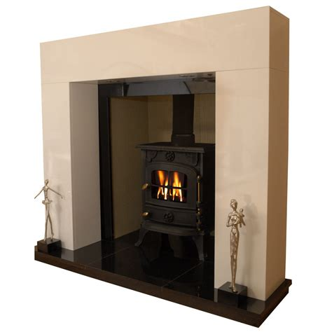 Solid Fuel Fireplace by Chelmsford Solid Fuel Marble Fireplace Hearth