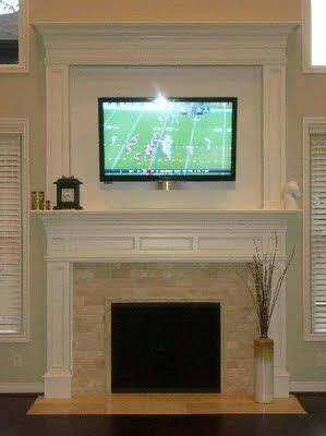 something like this to cover up the brick fireplace