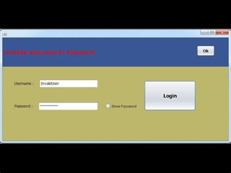source code for login page in java swing java how to create login form with mysql database with source code part 1 youtube