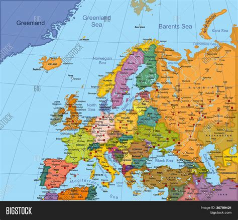 europe map cities and countries on the map europe map cities and countries on the map capital cities