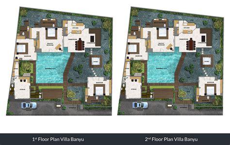 bali villa floor plan villa banyu 4 bedroom villa for 8 guest seminyak bali